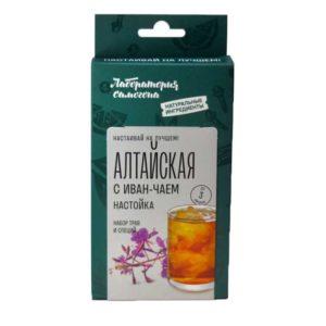 Набор трав и специй Алтайская с иван-чаем настойка от Лаборатории самогона