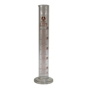 Мерный цилиндр стеклянный 50 мл стеклянная ножка