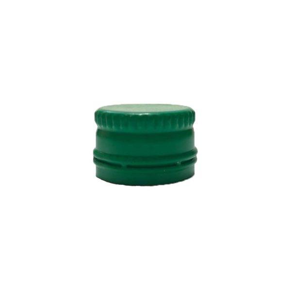 Алюминиевый колпачок 18*12 зеленый