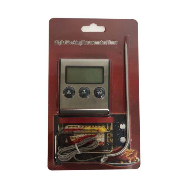 Электронный термометр с таймером и звуковым оповещением