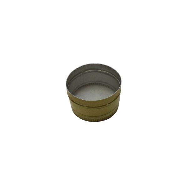 Колпачок алюминиевый (28*18) золото