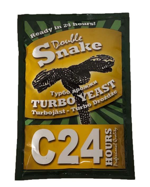Турбо дрожжи Double Snake Turbo Yeast C 24, 175 гр