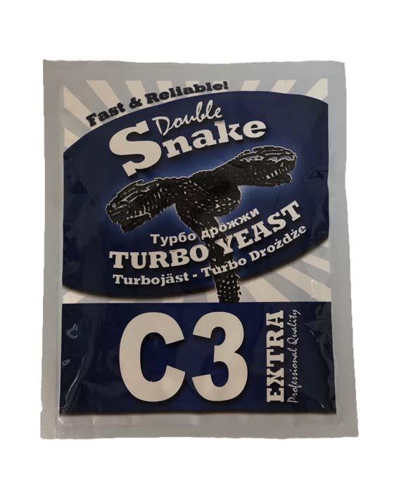 Турбо Дрожжи Double Snake Turbo Yeast C3, 90 гр